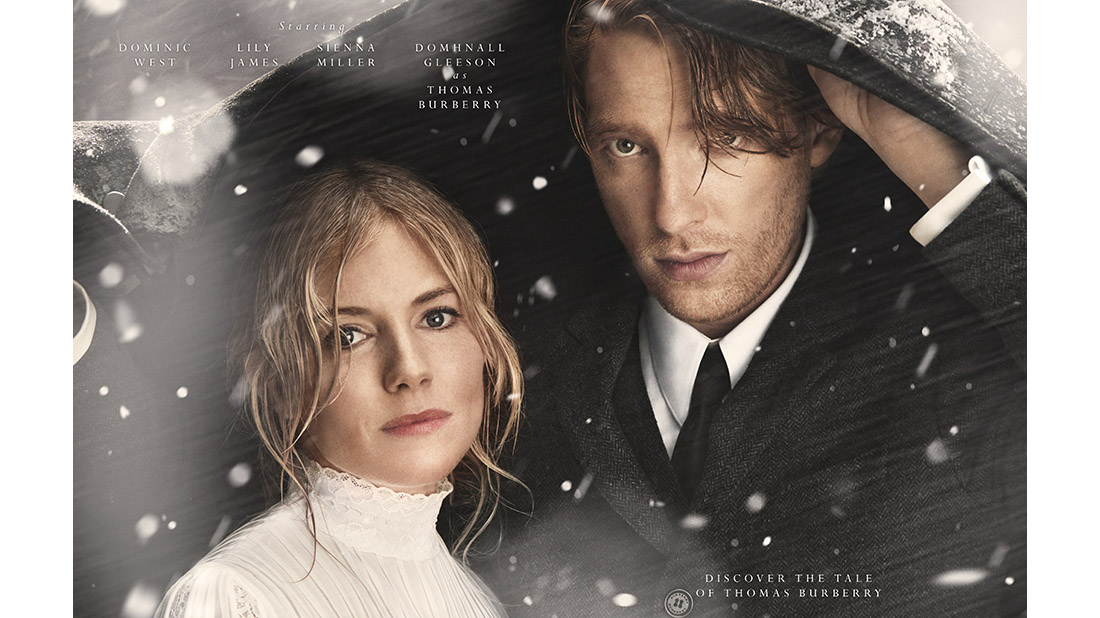 Burberry Christmas campaign with sienna miller