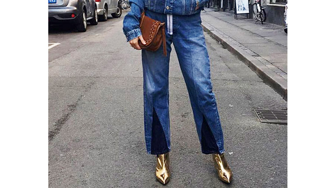 cropped jean style