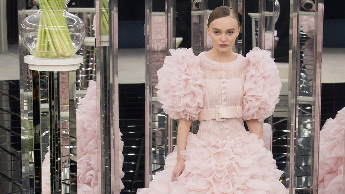 lily rose depp chanel haute couture