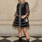 bloggers en el desfile de dior en paris fashion week