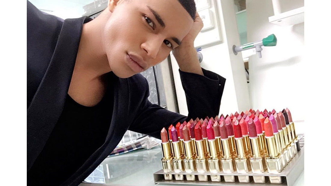 olivier rousteing x loreal