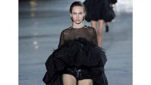 saint laurent 2018 en paris fashion week