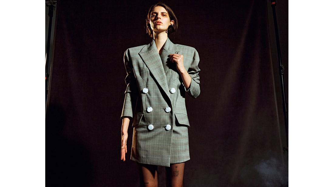 chaquetas de cuadros plaid jacket fall 2017/18